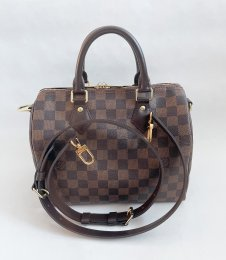 Louis Vuitton Speedy 25 Bandolier Damier Canvas
