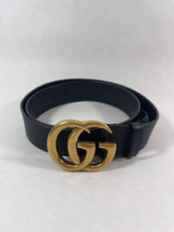 Gucci Black Belt Large Size 90