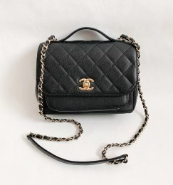 Chanel Business Affinity Black Caviar GHW