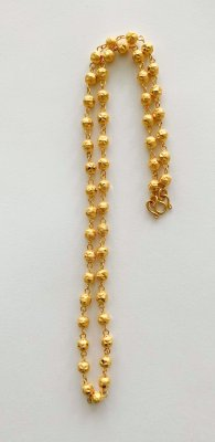Gold 23k. Necklace 15.2g