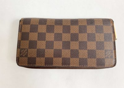 Louis Vuitton Zippy Wallet Damier Canvas
