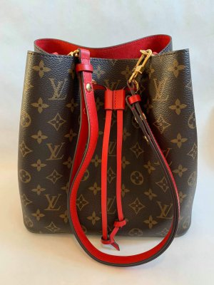 Louis Vuitton Neo Noe Red