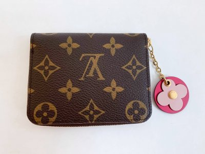 Louis Vuitton Zippy Coin Purse Monogram Canvas