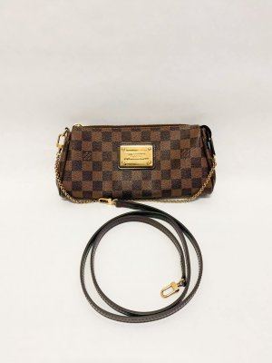 Louis Vuitton Eva Clutch Damier Canvas