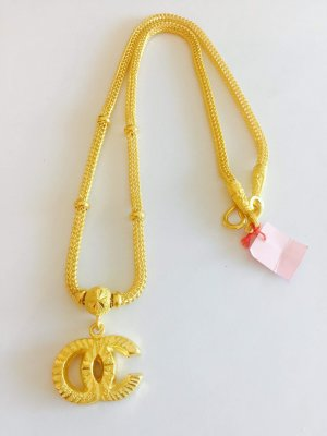 Gold 23K, Necklace 30.4