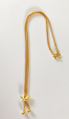 Gold 23k. Necklace 15,2g