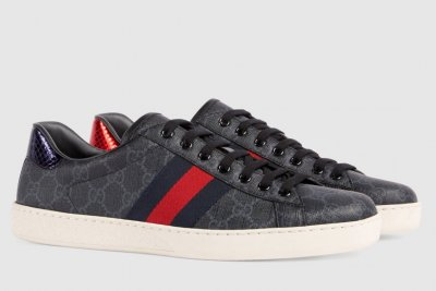 Gucci Ace Supreme GG Sneakers Size 42