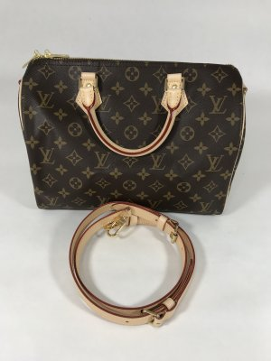 Louis Vuitton Speedy 30 Monogram Canvas Bandeliere