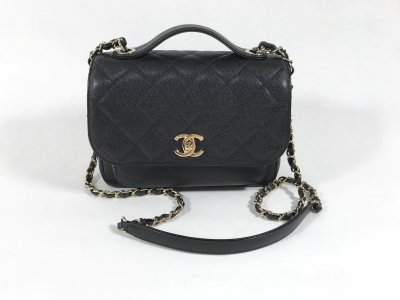 Chanel Business Affinity Black Caviar