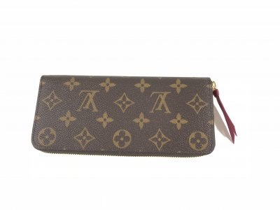 Louis Vuitton Clemence Fushia Wallet