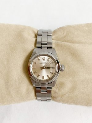 Rolex Oyster perpetual 26 lady Silver/Steel