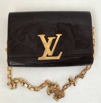 Louis Vuitton Verni GM Patent Leather