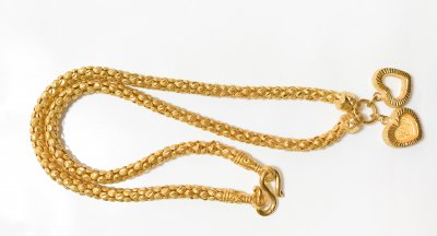 Gold 23k, Necklace, 30.4g