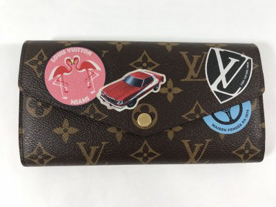 Louis Vuitton Sarah Wallet World Tour Collection