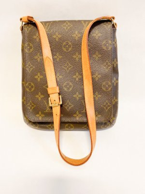 Louis Vuitton Shoulder Bag Monogram Canvas