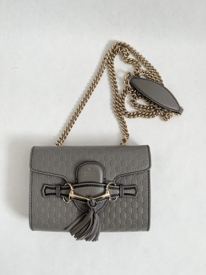 Gucci Emily Leather Crossbody Bag