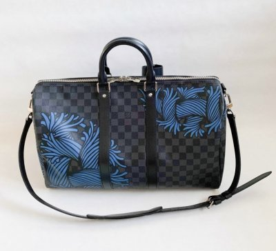 Louis Vuitton KeepAll 45 Limited blue rope edition