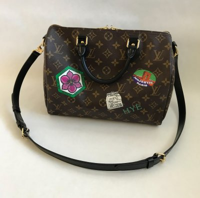 Louis Vuitton Speedy 30 Bandelier Limited World Tour