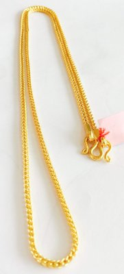 Gold 23K, Necklace 30.4g