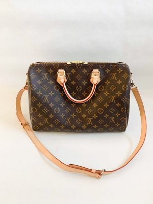 Louis Vuitton Speedy 35 Bandoliere Monogram Canvas