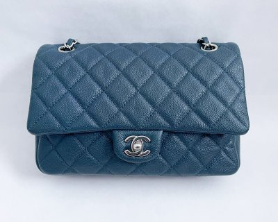 Chanel Easy 10 in Blue Caviar SHW
