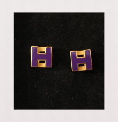 Hermes Earrings Cage d'H