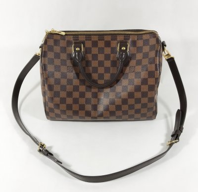 Louis Vuitton Speedy 30 Bandelier Damier Canvas
