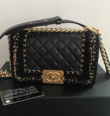 Chanel Boy 8 limited Calf Leather