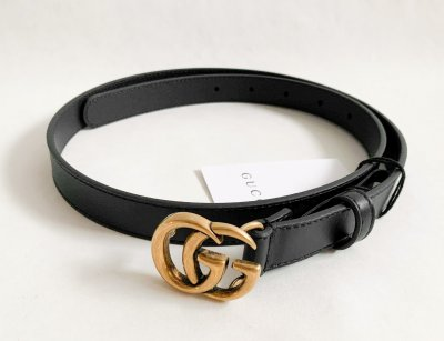 Gucci Black Belt Leather