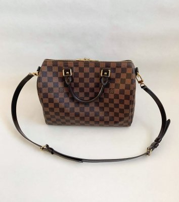 Louis Vuitton Speedy 30 Bandolier Damier Canvas