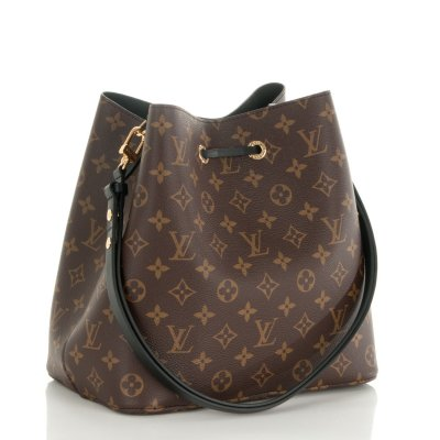 Louis Vuitton Neo Noe Black Monogram Canvas