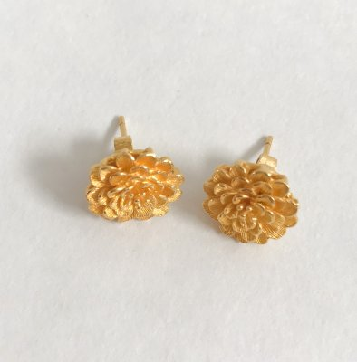 Gold 23K, Earrings 8.7g