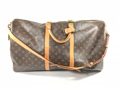 Louis Vuitton KeepAll 60 Monogram with Strap