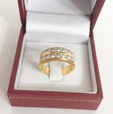 Diamond Ring, Gold 18k