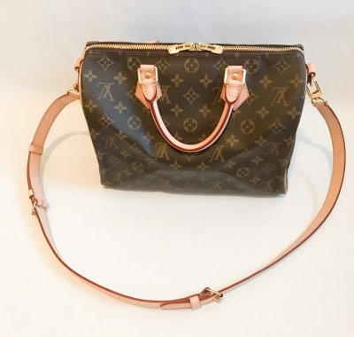 Louis Vuitton Speedy 30 Ban Monogram