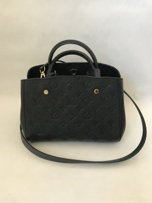 Louis Vuitton Montagine bb Black Empriente