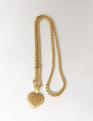 Gold 23K, Necklace 19g