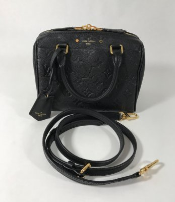 Louis Vuitton Speedy 20 Empriente Black