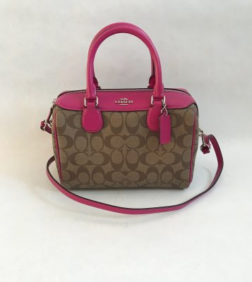 Coach Mini Bennet Pink