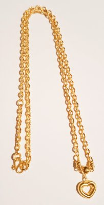 Gold 23k, Necklace 3.8g