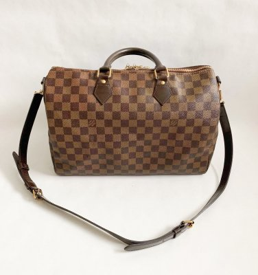 Louis Vuitton Speedy 35 Bandolier Damier Canvas