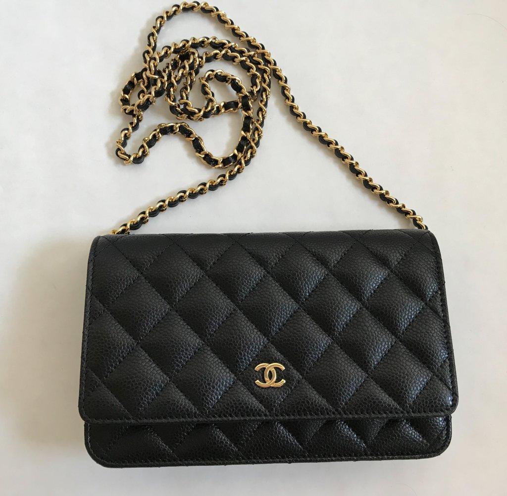 46dc05cab27aed Chanel WOC Black Caviar GHW - Bags - Lyxen.se