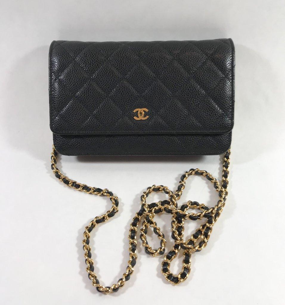 23c06d8dabd799 Chanel WOC Classic Black Caviar GHW - Lyxen.se