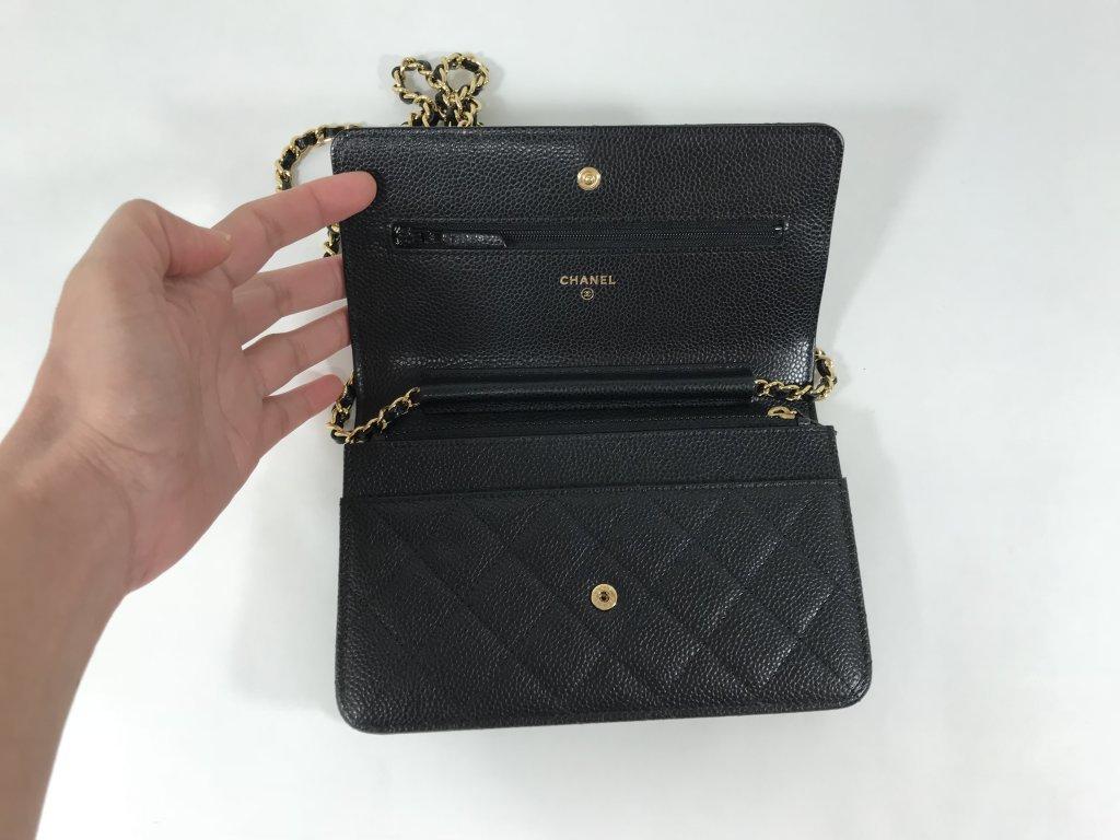 6bddf20c71f7 Chanel WOC in Black Caviar GHW - Bags - Lyxen.se